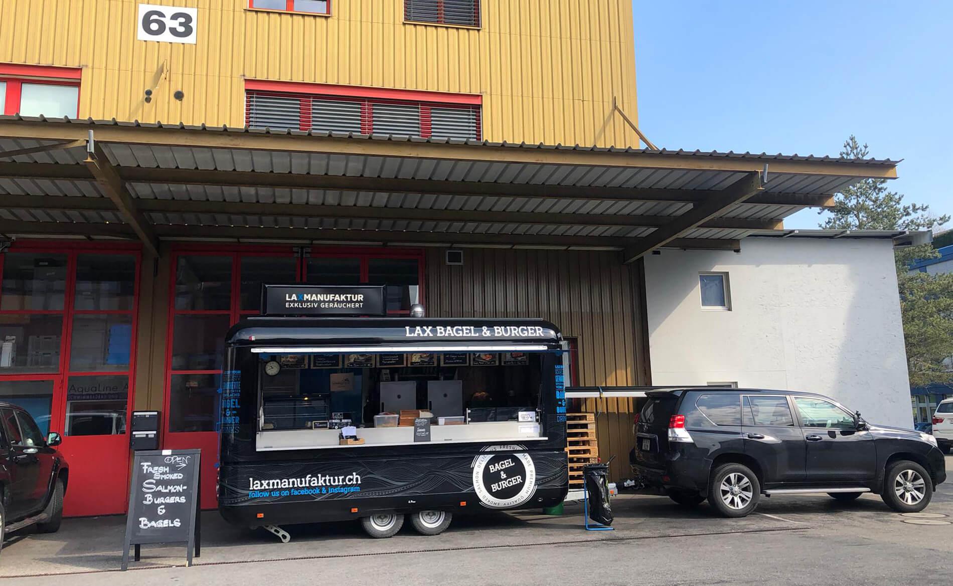 Schäfli Neuheim – Laxmanufaktur– Foodtruck – fixer Standort in Hünenberg